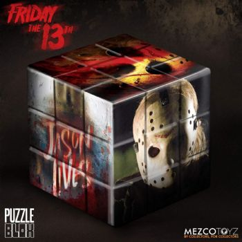 Friday The 13th Jason Puzzle Blox By Mezco